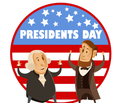 Presidents' Day- No Class